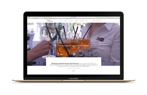 Festessen Website Vorschau