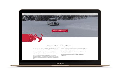 FS Motorsport Website Vorschau