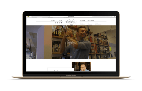 Schaeffners Website Vorschau