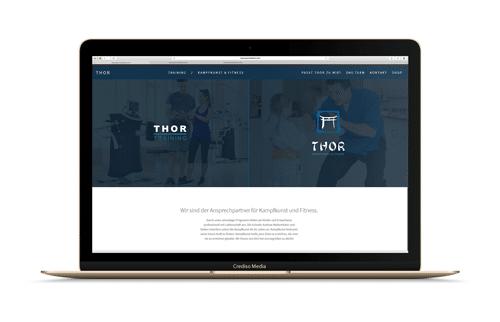 Thor Fit Website Vorschau